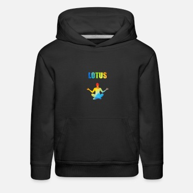 Feelings Lotus Rainbow - Kids' Premium Hoodie