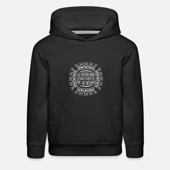 Game Hoodies & Sweatshirts - Chess Player Isolation - Kids' Premium Hoodie black