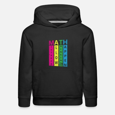 Quote Math Cool Quote - Kids' Premium Hoodie
