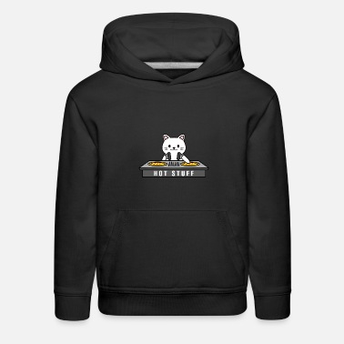 Cop Funny cat Design that reads . Perfect for a Cat mo - Kids' Premium Hoodie