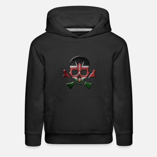 Patriot Hoodies & Sweatshirts - Kenya - Kids' Premium Hoodie black