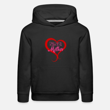Mum Heart Mother Mami Mam Mother Mum Mum Mam Mamma - Kids' Premium Hoodie