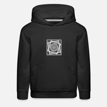 Shape Geometric Abstract Shapes Graphic Art - Kids' Premium Hoodie