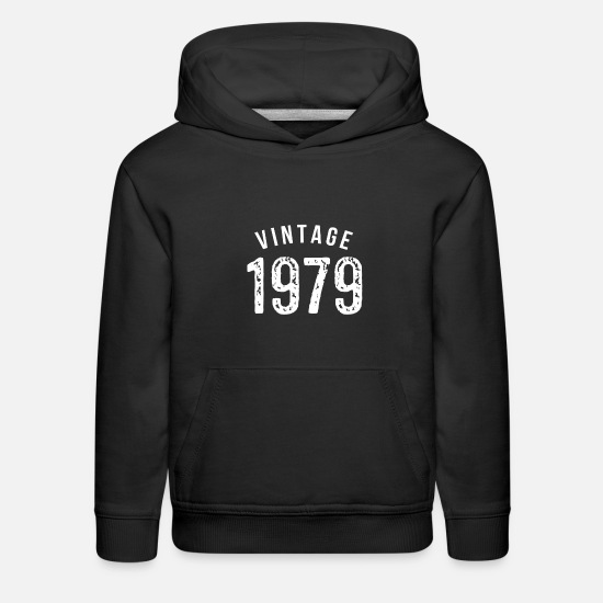 Birthday Hoodies & Sweatshirts - 40th birthday - Kids' Premium Hoodie black