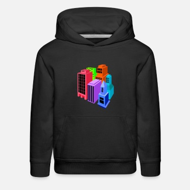 Build buildings - Kids' Premium Hoodie
