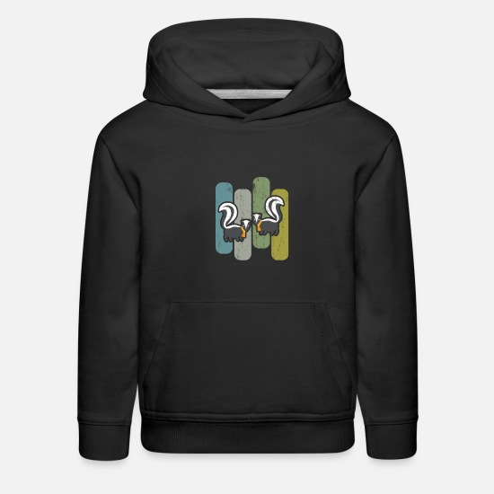 Skunk Hoodies & Sweatshirts - skunk - Kids' Premium Hoodie black