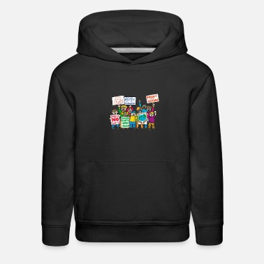 Enviromental FRIDAY FOR FUTURE environmentalist conservationist - Kids' Premium Hoodie