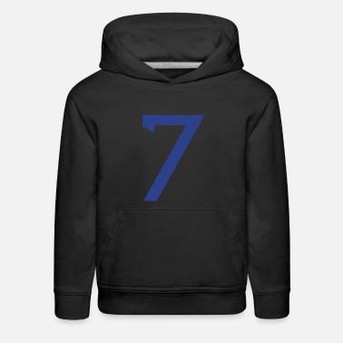 Player Number ★Cool Number Seven 7-Best Uniform Number-7★ - Kids' Premium Hoodie
