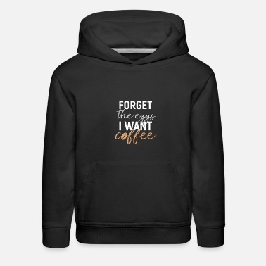 Sunday Roast Easter Coffee Eggs Shirt Gift - Kids' Premium Hoodie