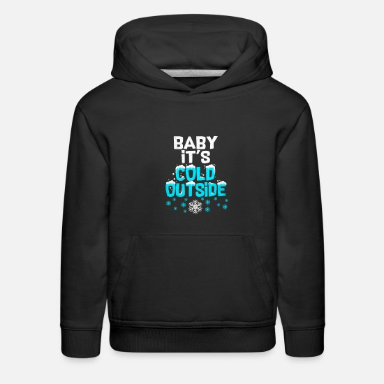 Winter Sports Hoodies & Sweatshirts - Ski Ski Ski Ski - Kids' Premium Hoodie black