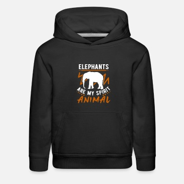 Motivational elephant - Kids' Premium Hoodie