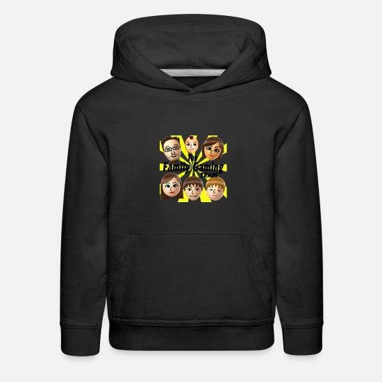 Youtube Hoodies & Sweatshirts - FGTEEV (No Background Logo) Kids Premium T-Shirt - Kids' Premium Hoodie black