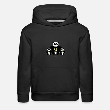 'Big Brother' Panda - Kids' Premium Hoodie