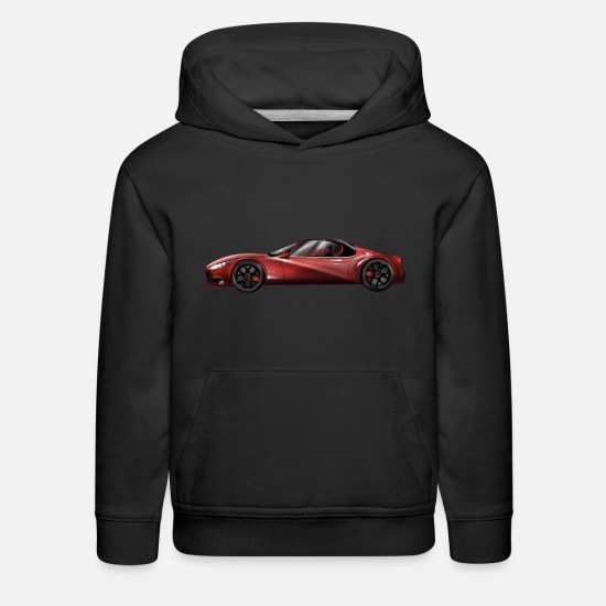 Car Hoodies & Sweatshirts - konzept car - Kids' Premium Hoodie black