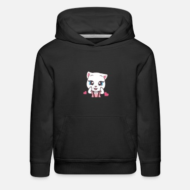 Tom Talking Angela - Kids' Premium Hoodie
