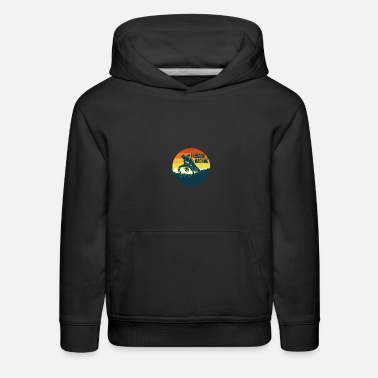 Storytelling Graphic NAWA FM Freedom Machine MTB Bike Rider Graphic - Kids' Premium Hoodie
