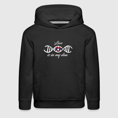 love my dna dns land country Laos - Kids' Premium Hoodie