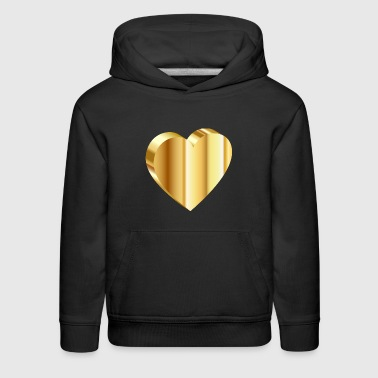 Heart of Gold - Kids' Premium Hoodie