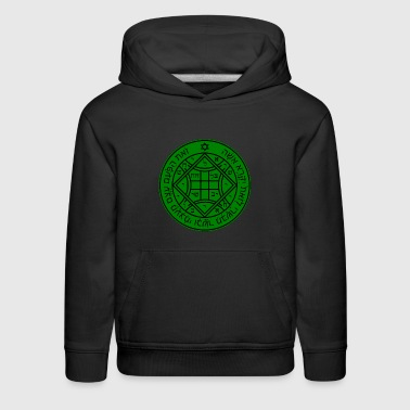 Fourth (4th) Pentacle of Venus - Kids' Premium Hoodie