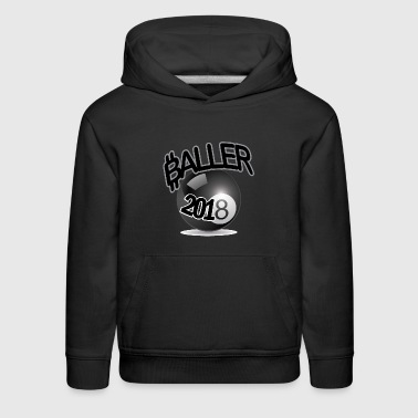 Only Ballers Can Wear This - Kids' Premium Hoodie