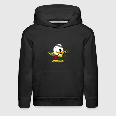 Throwback Oregon - Kids' Premium Hoodie