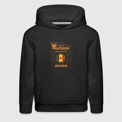 love princesses come from MOLDOVA - Kids' Premium Hoodie