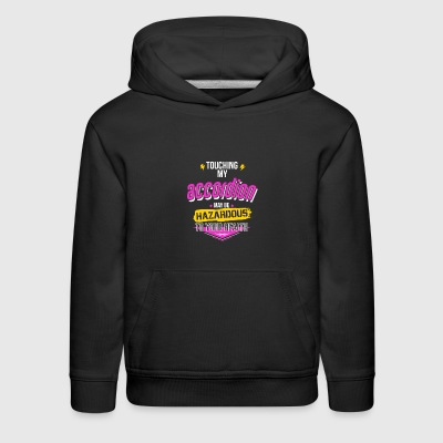 Funny Accordion Player Gift - Kids' Premium Hoodie