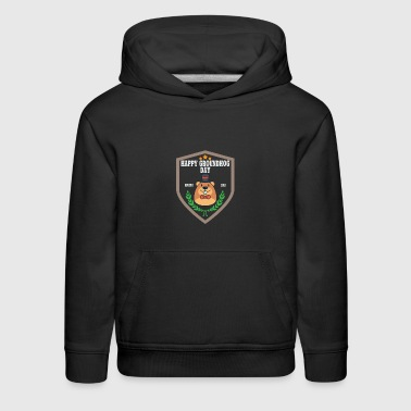 HAPPY GROUNDHOG DAY Gift - Kids' Premium Hoodie