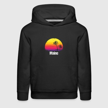 Summer Vacation Maine Shirts - Kids' Premium Hoodie