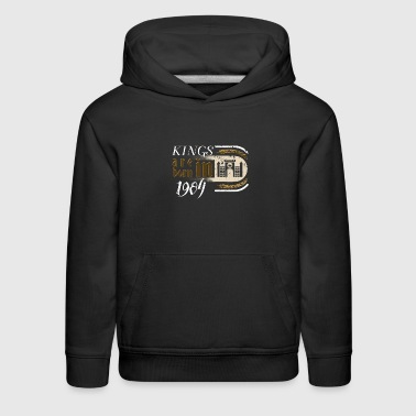 Gothic Birthday Kings Castle Born 1984 - Kids' Premium Hoodie