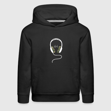 Music Tshirt Present for Christmas Birthday Rock - Kids' Premium Hoodie