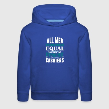 cashier bank cash money - Kids' Premium Hoodie
