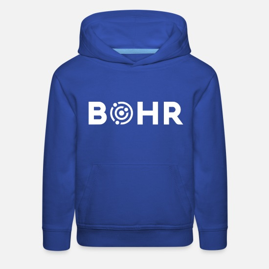 Atomic Bomb Hoodies & Sweatshirts - Bohr White - Kids' Premium Hoodie royal blue