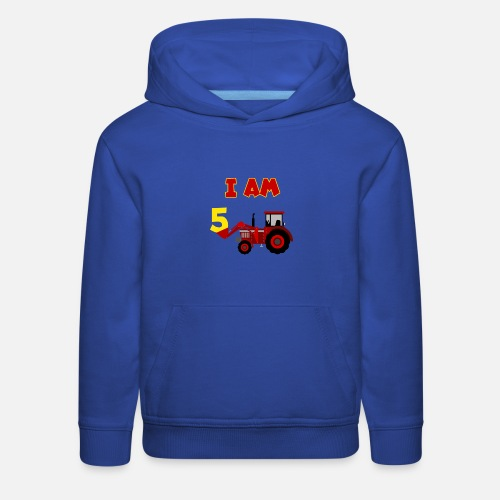 1e3a46d4 ... Sweatshirts - 5th Birthday T-Shirt Boys Tractor, Farmer -. Do you want  to edit the design?