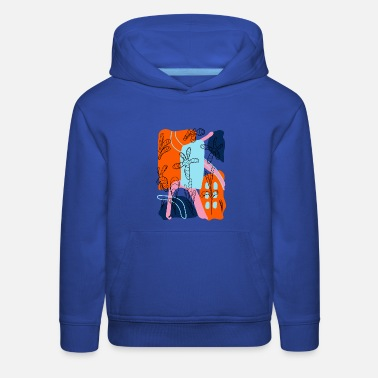 Abstract - Kids' Premium Hoodie