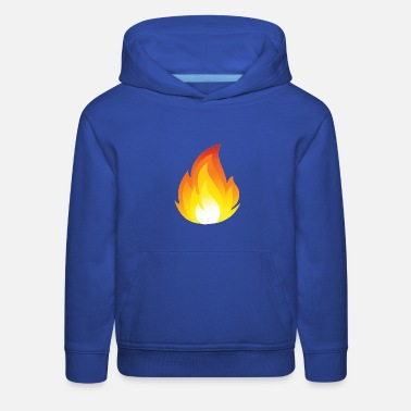 Youtuber Flames Merch a For youtube - Kids' Premium Hoodie