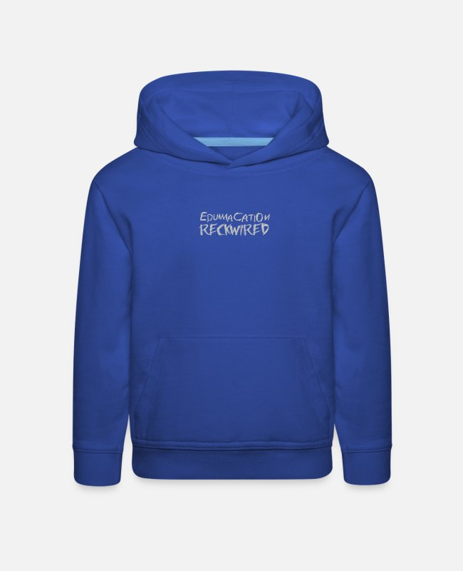 Movie Hoodies & Sweatshirts - Edumacation - Kids' Premium Hoodie royal blue