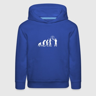 Evolution of Thug - Kids' Premium Hoodie