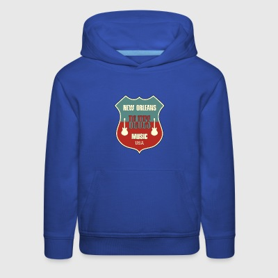 new orleans blues - Kids' Premium Hoodie