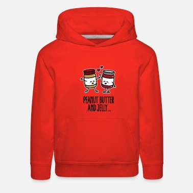 Peanut Peanut butter and jelly - Kids' Premium Hoodie
