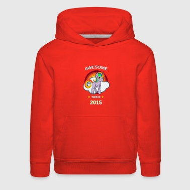 Beau 704Awesome PonyBirthday gift for girls - with beau - Kids' Premium Hoodie