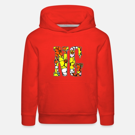 Love Hoodies & Sweatshirts - Bloom - Kids' Premium Hoodie red