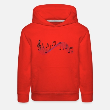 Pianist Musical Notes - Kids' Premium Hoodie