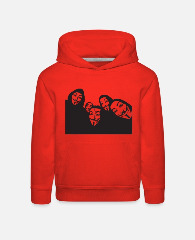 Anon Hoodies & Sweatshirts - Anon - Kids' Premium Hoodie red