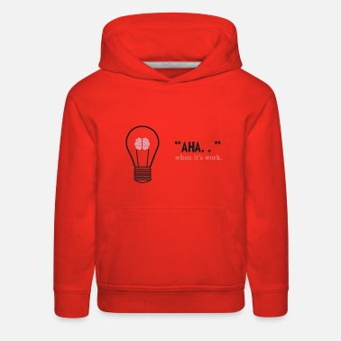 i have an idea - Kids' Premium Hoodie