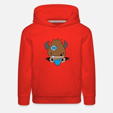 Rollo, the little viking - Kids' Premium Hoodie