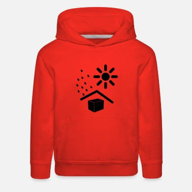 Weather weathered - Kids' Premium Hoodie