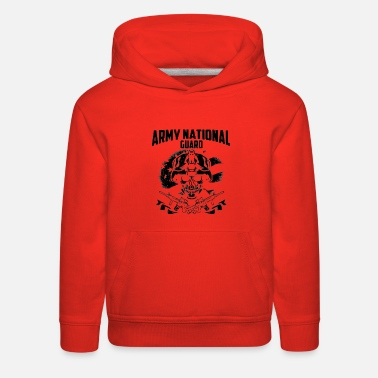 Army Army National Guard shi - Kids' Premium Hoodie