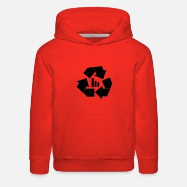 Recycling recycle bars - Kids' Premium Hoodie
