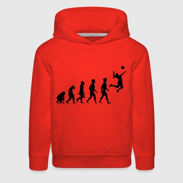 Volleyball Spieler Volleyballspieler Evolution - Kids' Premium Hoodie